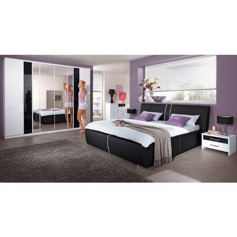 Bed 180x200 cm zwart 503975