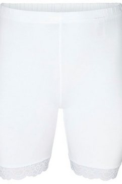 zizzi short met kanten detail wit