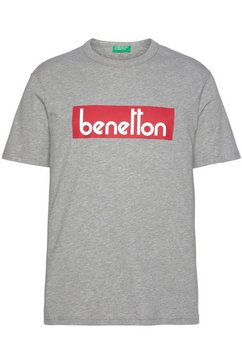 united colors of benetton t-shirt grijs
