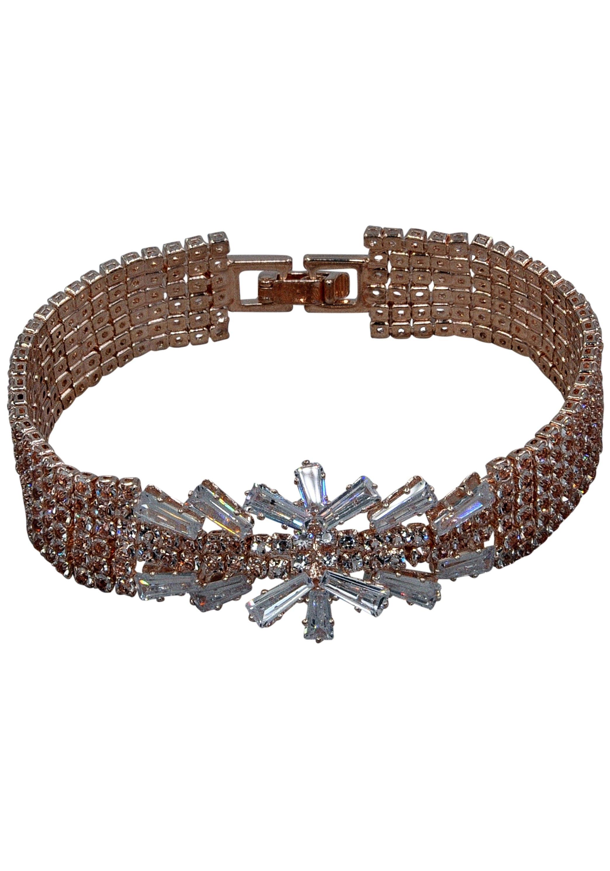 J.Jayz armband In glamour-look, meerrijig met glassteentjes goedkoop op otto.nl kopen