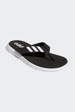 adidas teenslippers comfort zwart