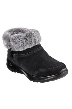 skechers winterlaarzen »on-the-go joy - savvy« zwart
