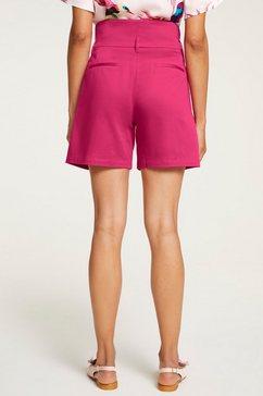 ashley brooke by heine short met brede tailleband roze