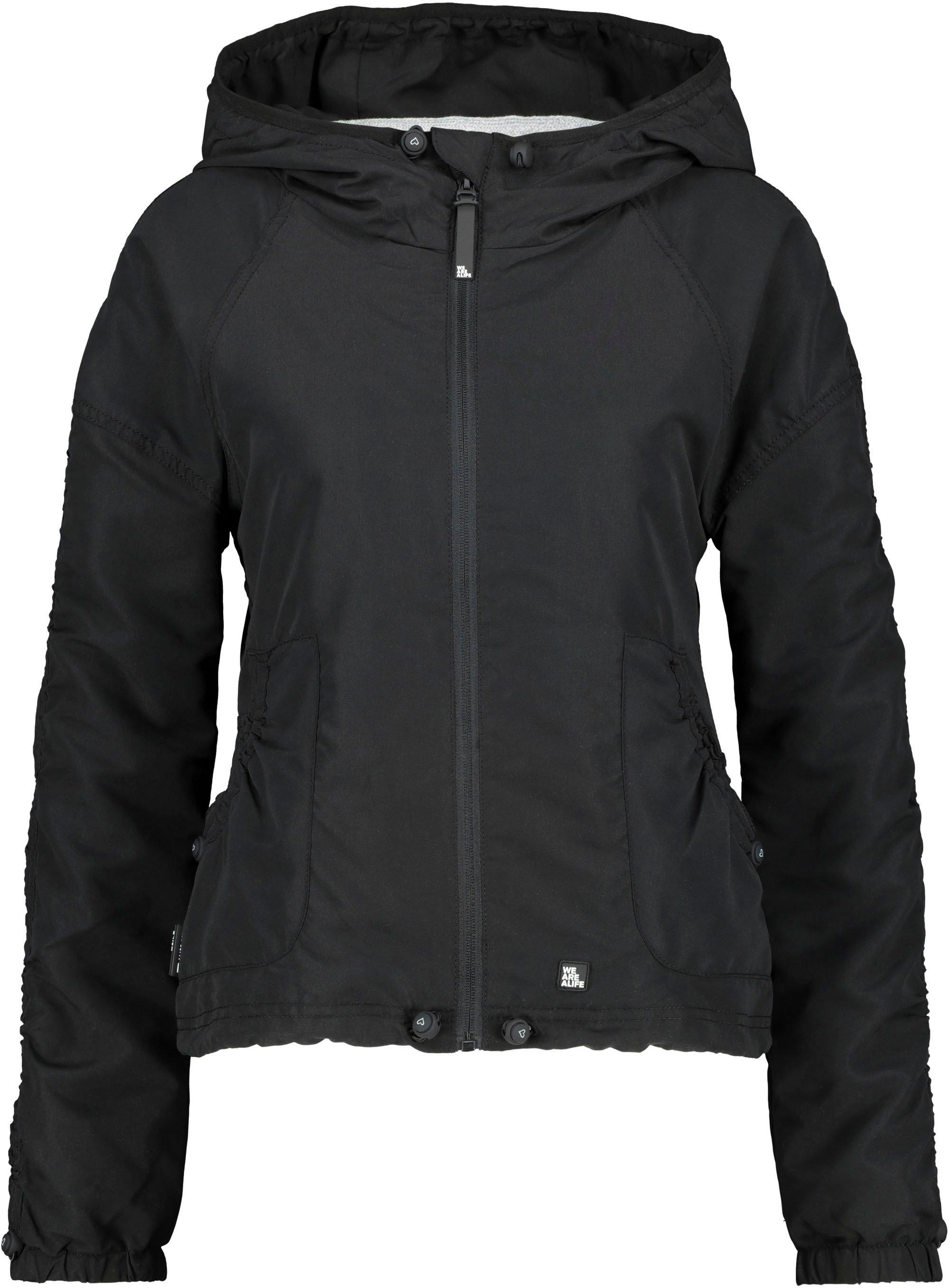 alife and kickin outdoorjack OraAK lichte, sportieve blousonjas met zijzakken & capuchon in de webshop van OTTO kopen