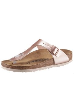birkenstock teenslippers »gizeh inspired electric metallic« roze
