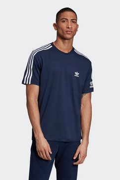 adidas originals t-shirt »lock up tee« blauw