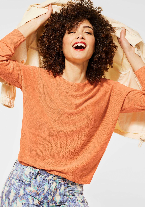Op zoek naar een STREET ONE Gebreide trui met siernaad aan de achterkant? Koop online bij OTTO