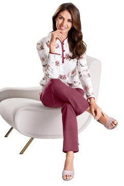 arabella pyjama in single-jerseykwaliteit beige