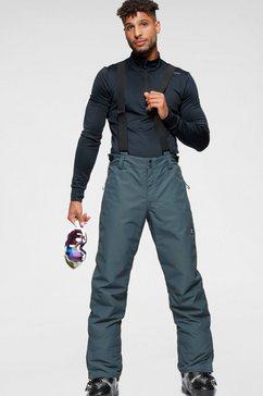 brunotti skibroek footstrap blauw