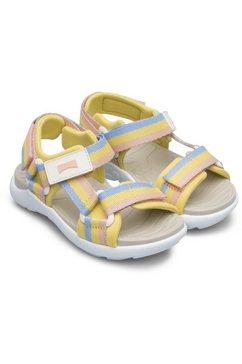 camper sandalen met strepen geel