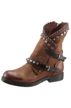 a.s.98 bikerboots »recycled« bruin