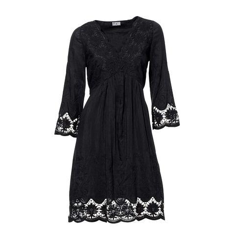 Picture Kanten jurk zwart 038266