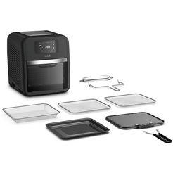 tefal airfryer fw5018 easy fry oven  grill 9 in 1; 7 accessoires; 11 l; 6 porties; temperatuurcontrole; gemakkelijk te reinigen; timer