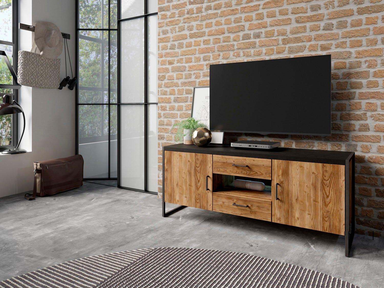TRENDMANUFAKTUR tv-meubel Tarabo Breedte 154 of 204 cm online kopen op otto.nl