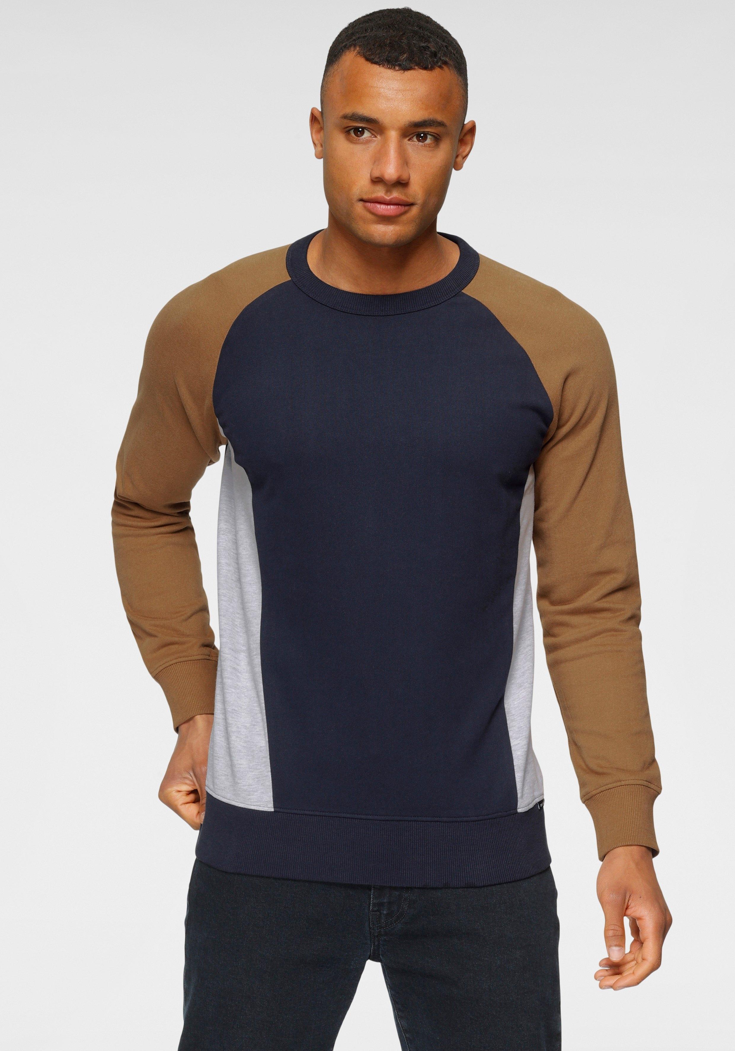 Tom Tailor Denim sweatshirt met colourblocking bij OTTO online kopen
