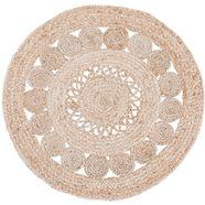 luxor living vloerkleed balo natuurlijke materialen, boho-stijl, woonkamer beige