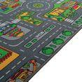 living line vloerkleed voor de kinderkamer »little city« multicolor