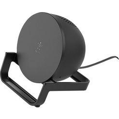belkin bluetoothluidspreker boostcharge wireless charging stand zwart