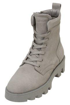 marc o'polo hoge veterschoenen grijs