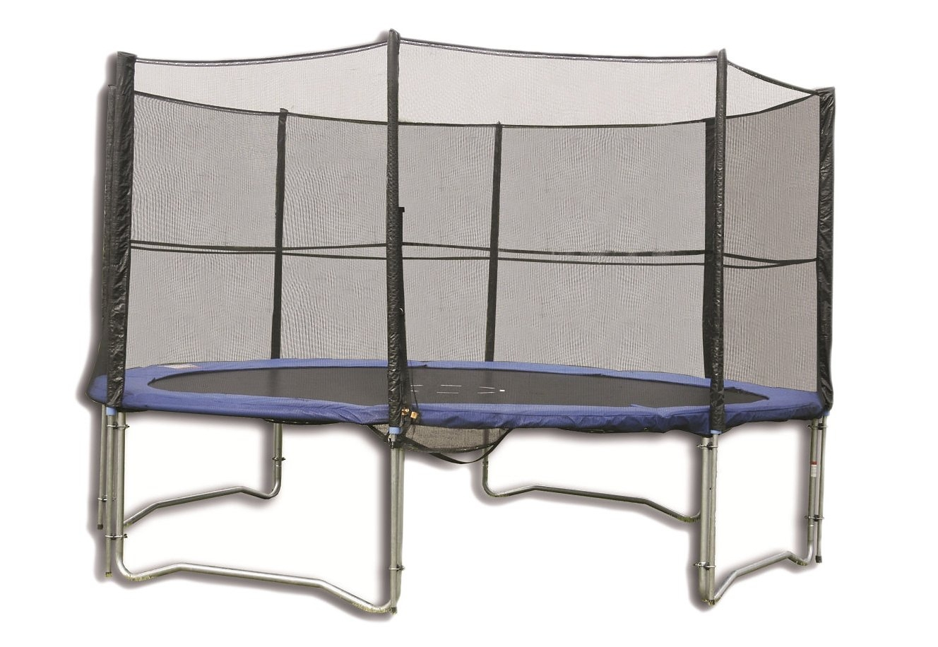 trampolinenet spartan vervangend net voor trampoline 305 cm 460 cm in 5 afm. Black Bedroom Furniture Sets. Home Design Ideas