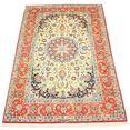 morgenland wollen kleed isfahan teppich handgeknuepft beige handgeknoopt beige