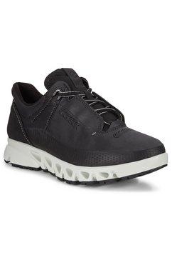 ecco sneakers met gore-tex-membraan zwart
