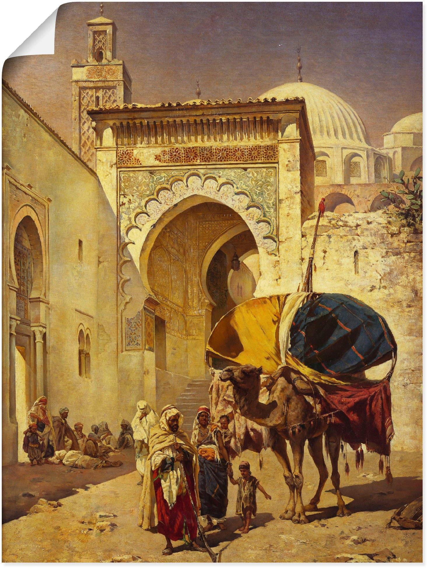 Op zoek naar een Artland artprint »Eine arabische Straßenszene.«? Koop online bij OTTO