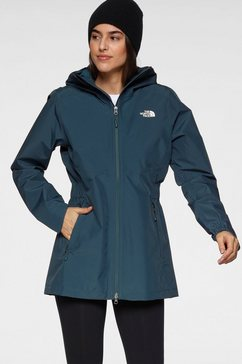 the north face functionele parka blauw