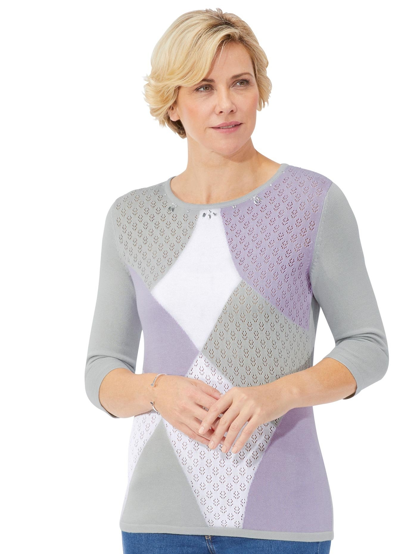 Op zoek naar een Classic trui met ronde hals Trui? Koop online bij OTTO
