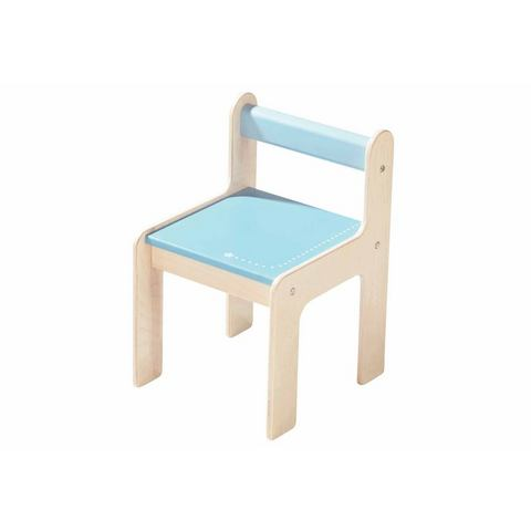 Kinderstoeltje, HABA, 'puncto blauw'