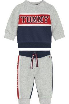 tommy hilfiger shirt  broek in cool colourblocking-design blauw
