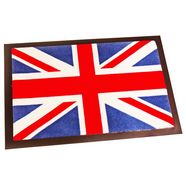hanse home mat union jack met antislip-coating multicolor