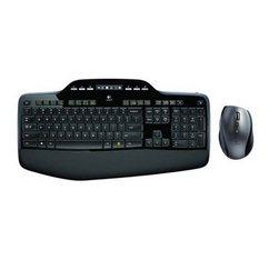Draadloos toetsenbord met muis, MK710