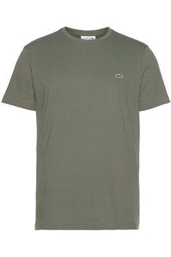 lacoste t-shirt van puur katoen groen