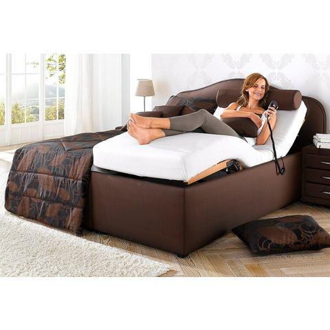 Bed 140x200 cm bruin Maintal 756897