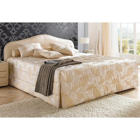 Bed 140x200 cm beige Maintal 405552