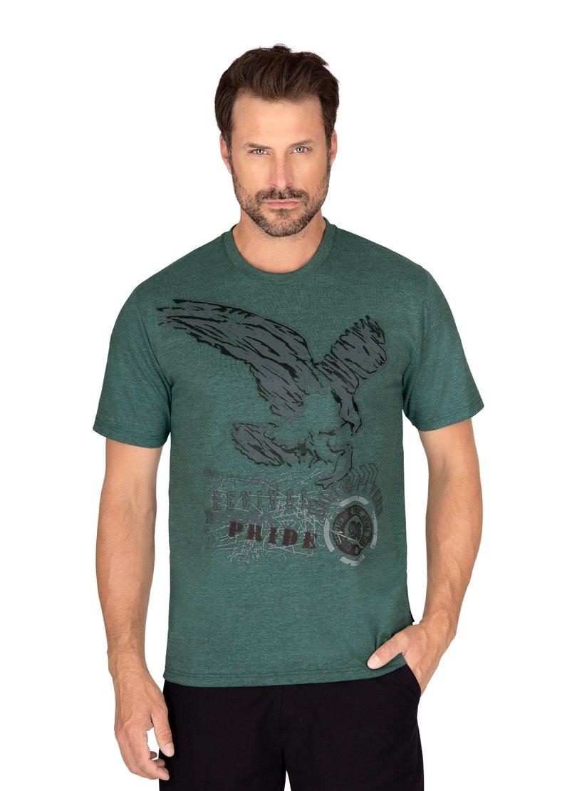 Trigema shirt met print met adelaar-printmotief op borsthoogte voordelig en veilig online kopen
