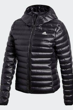 adidas performance donsjack »varilite hooded« zwart