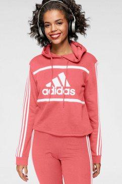adidas performance hoodie »w cb cro hd« roze
