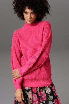 aniston casual trui met staande kraag