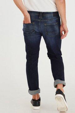 blend regular fit jeans »blizzard« blauw