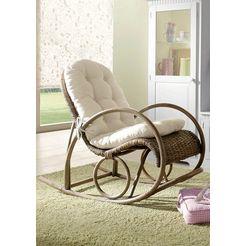 home affaire schommelstoel grijs