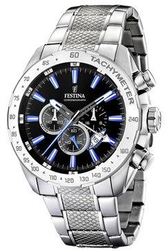 festina chronograaf »f16488-3« zilver