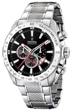 festina, horloge 'f16488-5' zilver