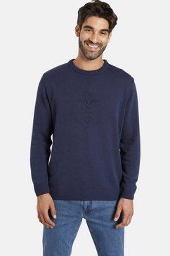 jan vanderstorm trui met ronde hals »olle« blauw