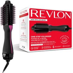 revlon stylingborstel met warme lucht rvdr5282uke salon one-step haardroger volumiser zwart