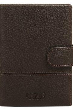 mano portemonnee don tommas tweevoudig inklapbaar (1-delig) bruin