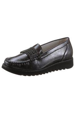 waldlaeufer mocassins habea in comfortabele schoenwijdte h grijs