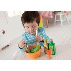 hape speelgoedlevensmiddelen gezonde tuinsalade multicolor