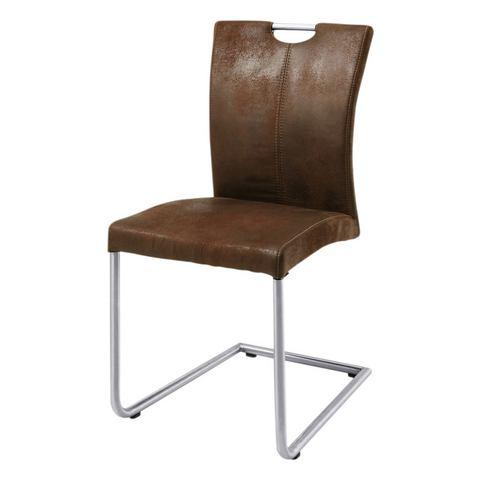 Eetkamerstoelen Vrijdragende stoel 'Heike' 413365